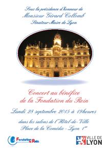 Concert au bénéfice de la Fondation du Rein