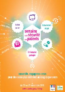 Du 23 au 27 novembre 5ème édition de la Semaine de la Sécurité des Patients (SSP)