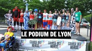 Podium course des Heros Lyon