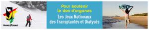 XXVèmes Jeux Nationaux des Transplantés et Dialysés à Aurillac du mercredi 24 au dimanche 28 mai 2017