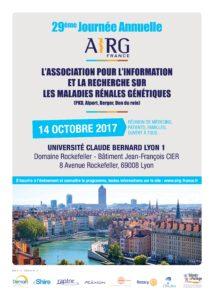 Le 14 octobre 2017, 29ème Journée Annuelle de l'AIRG-France