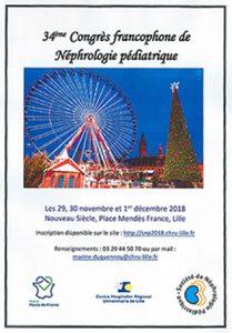 Du 29 novembre au 1er décembre l'AIRG-France était au 34ème Congrès de la SNP