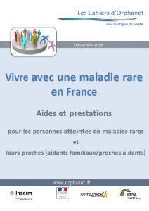 Vivre avec une Maladie Rare en France : Edition 2018