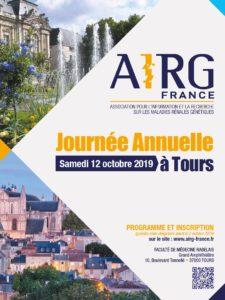 12 Octobre 2019 : Journée Annuelle d'Informations et d'échanges de l'AIRG-France