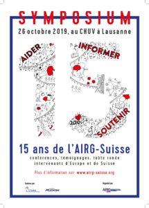 26 Octobre 2019 : 15 ans de l'AIRG-Suisse