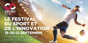 Du 19 au 21 Septembre 2019 : Le Festival du Sport et de l'Innovation à Lyon