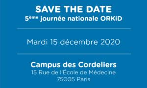 15 décembre 2020 : 5ème journée nationale des Maladies Rénales Rares ORKID