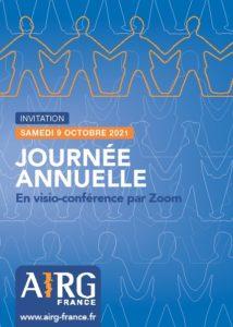 9 octobre 2021 : Journée Annuelle de l'AIRG-France